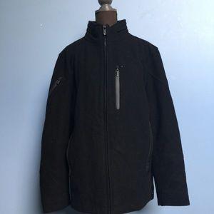 Tumi Tech Stowaway Hood Wool-Blend Jacket
